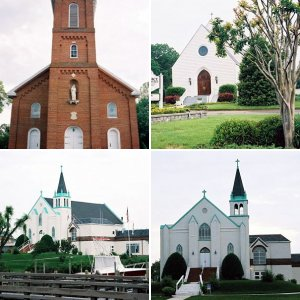 Some Misc. Historic Churches in So. Maryland