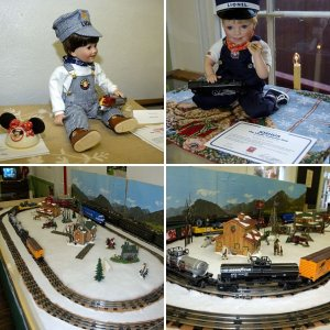 Christmas 2005: Doll & Train Show: Potomac River Museum: St. Clements Island