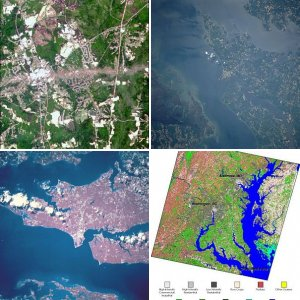 Southern Maryland from Space