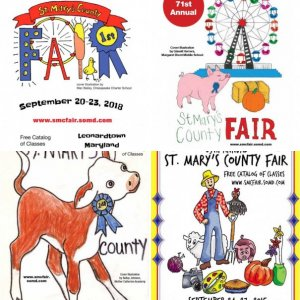 Historic St. Mary's County Fair Catalog Covers
