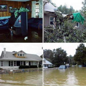 2003: Hurricane Isabel: Neeld Estates Community: Plum Point