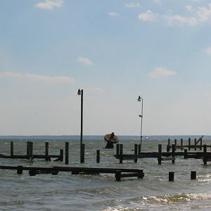 Piney Point - Damaged Docks