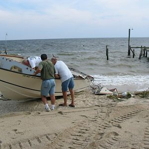 Piney Point - Surveying the Damage
