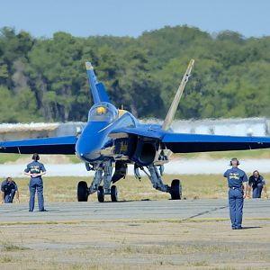 PAXRVR Air Expo - Blue Angels - Engines Started