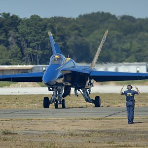PAXRVR Air Expo - Blue Angels - Permission to Taxi