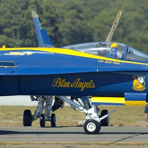 PAXRVR Air Expo - Blue Angels - Salute