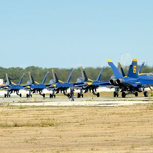 PAXRVR Air Expo - Blue Angels - Taxi Out