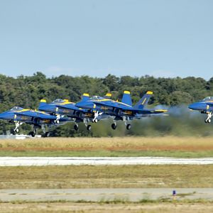 PAXRVR Air Expo - Blue Angels - Takeoff 1