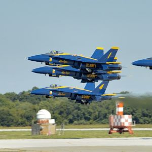 PAXRVR Air Expo - Blue Angels - Takeoff 2
