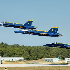 PAXRVR Air Expo - Blue Angels - Takeoff 4