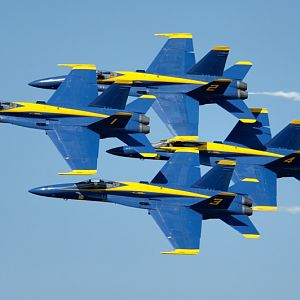 PAXRVR Air Expo - Blue Angels