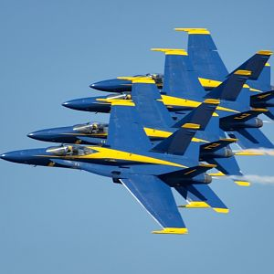 PAXRVR Air Expo - Blue Angels - 4-Pack