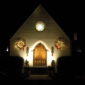 Christmas Light at the Holy Face Church