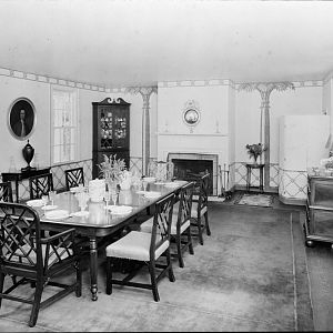Dining room, (south end)