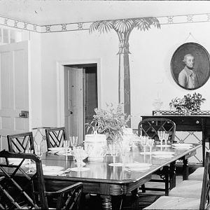 Dining room. (north end)