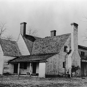 Kitchen wing and chimney c. 1910