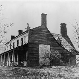 East front and north end in 1910