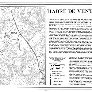 Habre de Venture, Drawing Cover Sheet