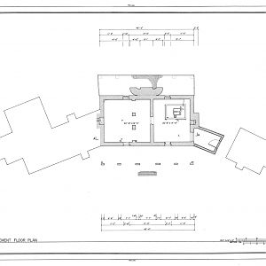 Habre de Venture, Basement Floor Plan Drawing