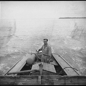 Oysterman. Rock Point, Maryland, 1936
