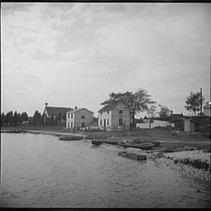 View of Rock Point, Maryland, 1936