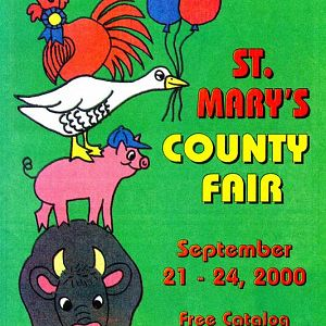 2000 Catalog Cover, St. Mary's County Fair