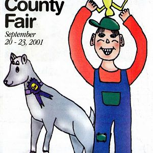 2001 Catalog Cover, St. Mary's County Fair