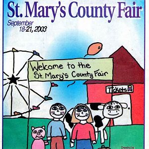 2003 Catalog Cover, St. Mary's County Fair