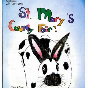 2004 Catalog Cover, St. Mary's County Fair