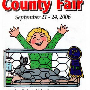 2006 Catalog Cover, St. Mary's County Fair