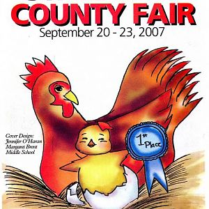 2007 Catalog Cover, St. Mary's County Fair