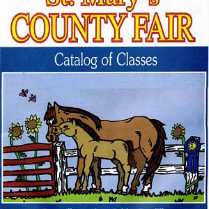 2008 Catalog Cover, St. Mary's County Fair