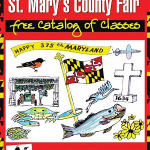 2009 Catalog Cover, St. Mary's County Fair