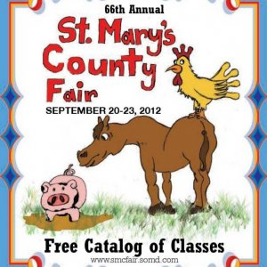 2012 Catalog Cover, St. Mary's County Fair