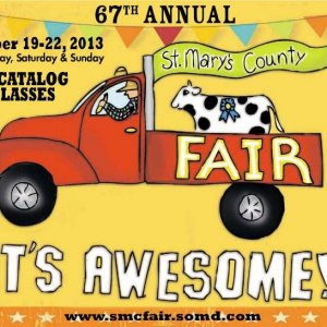 2013 Catalog Cover, St. Mary's County Fair