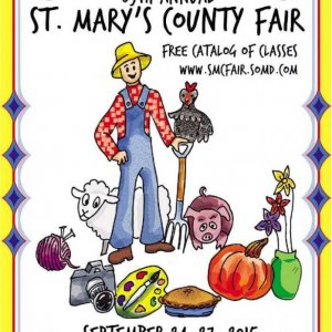 2015 Catalog Cover, St. Mary's County Fair