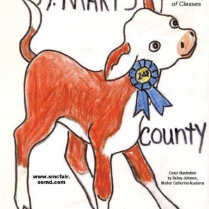 2016 Catalog Cover, St. Mary's County Fair