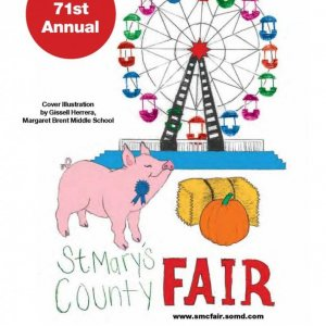 2017 Catalog Cover, St. Mary's County Fair