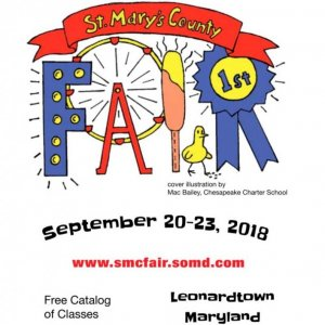 2018 Catalog Cover, St. Mary's County Fair