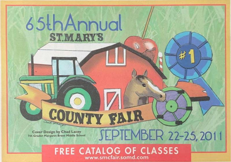 2011 Catalog Cover, St. Mary's County Fair