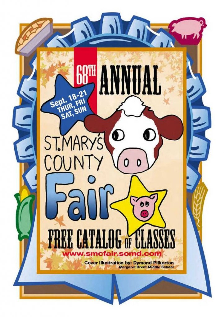 2014 Catalog Cover, St. Mary's County Fair