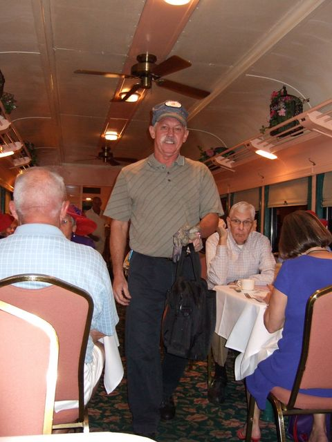 Murder Mystery Dinner Train - Conductor